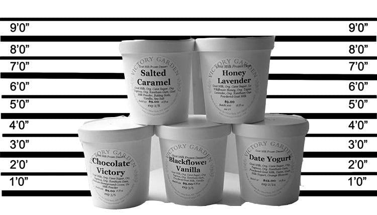Our Hard Packed Ice Cream Lineup!