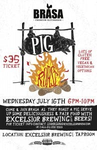 BRASA AND EXCELSIOR BREWING