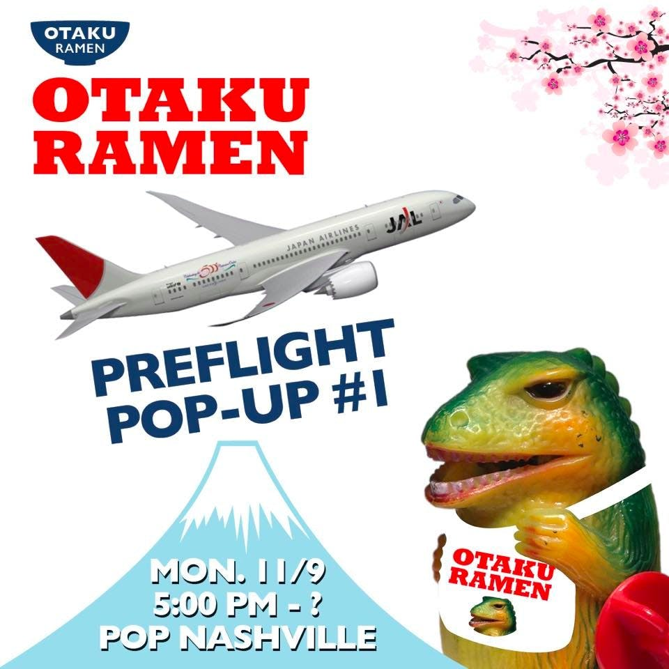 Otaku Preflight Pop-Up #1