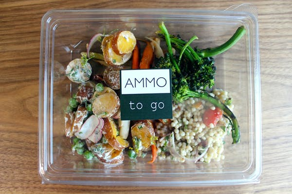 Ammo to Go Offers Farm-to-Table Take-Out for the Melrose Lunch Crowd