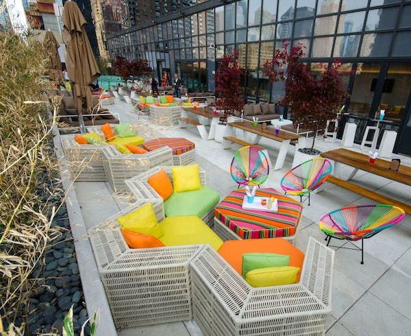 Alfresco Spots In New York City