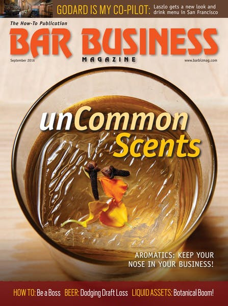 September 2016 Bar Business