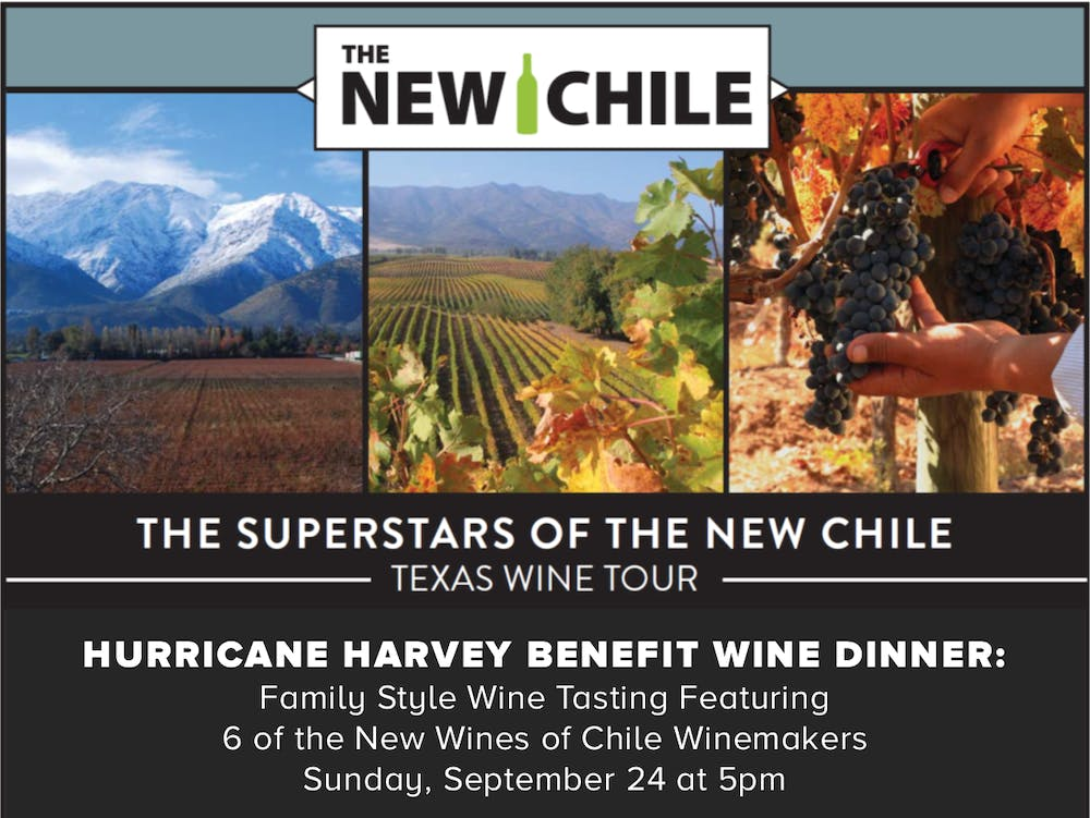 New Chile Texas Wine Tour