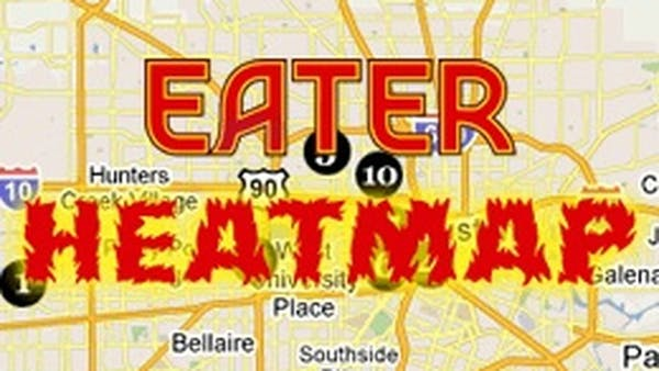 Where to Eat Right Now: January 2014 Heatmap