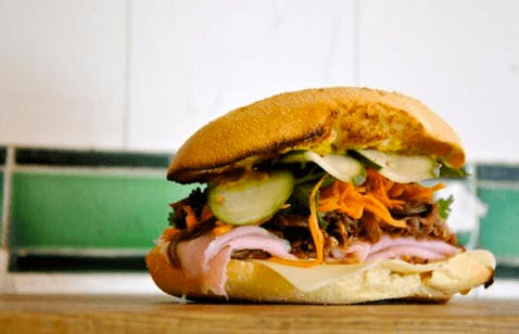 Someone Finally Combined the Best Parts of a Bánh Mì and a Cuban Sandwich
