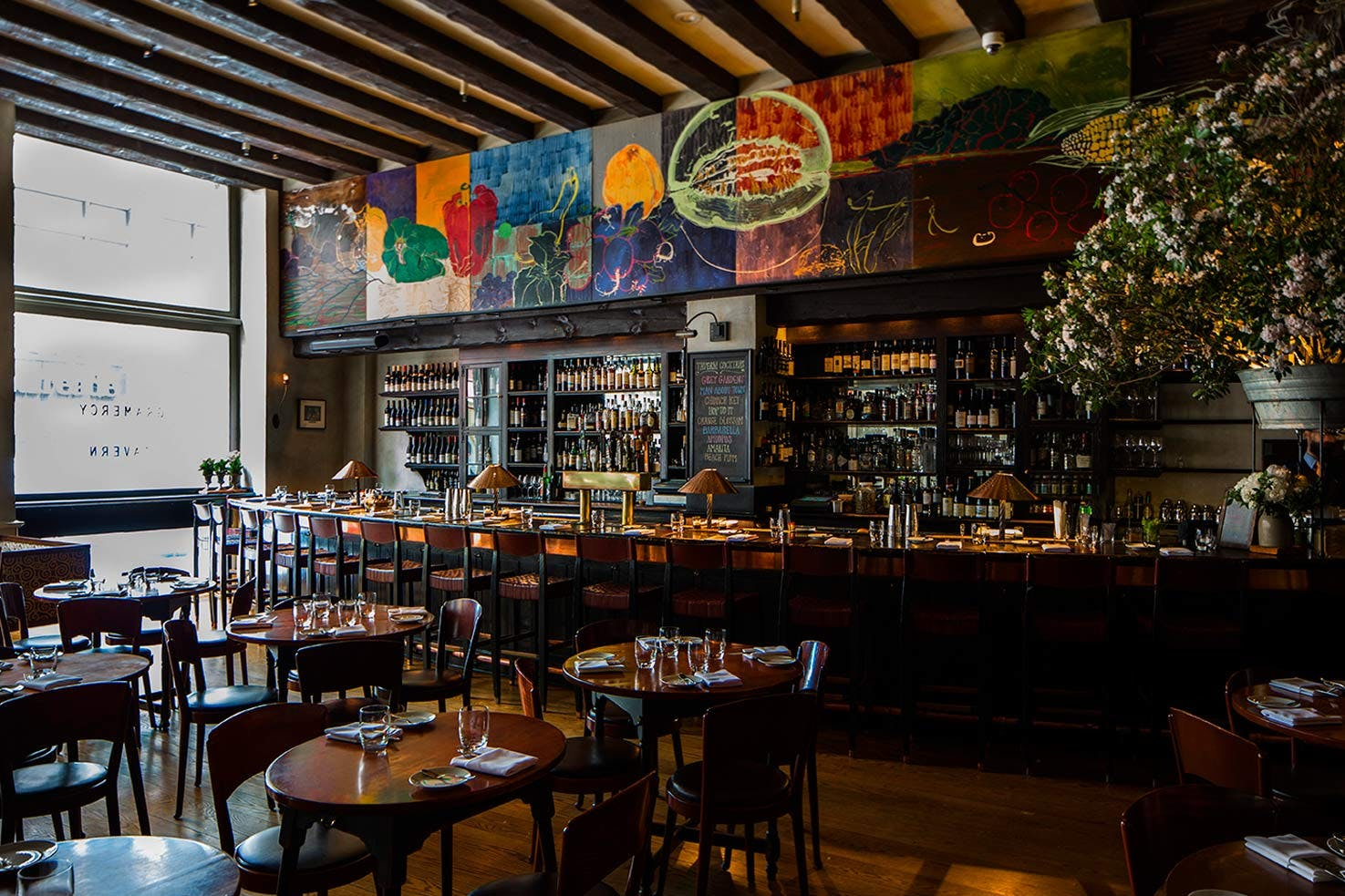 Blue Cow Kitchen And Bar Food Drink Seasonal Fine Dining In New York City
