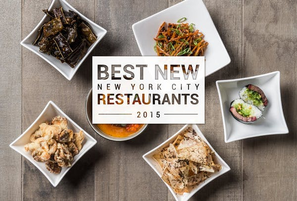 New York City's Best New Restaurants of 2015