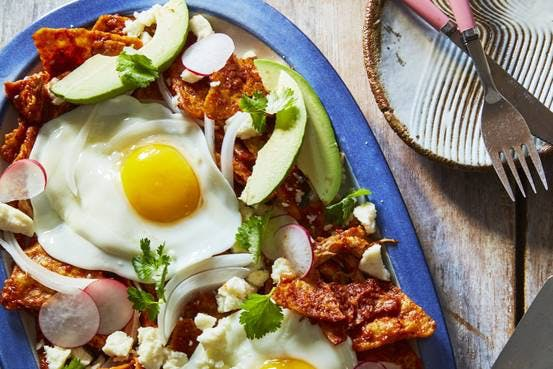 Chilaquiles With Chicken and Queso Fresco Recipe: Slow Food Fast