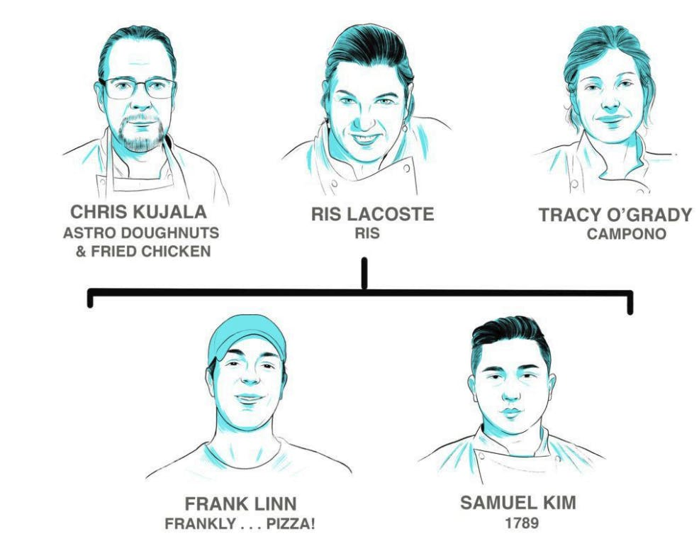 Press: Dozens of DC Chefs Have All Worked For the Same Four Dining Pioneers