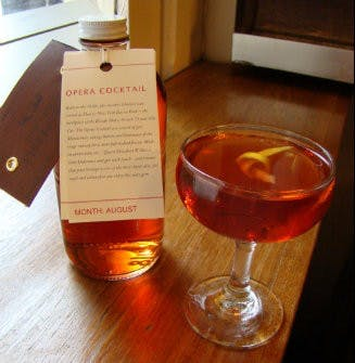 AUGUST 2012 – OPERA COCKTAIL