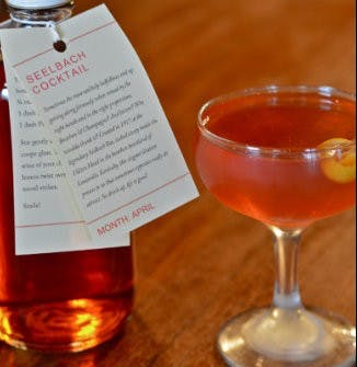 APRIL 2012 – SEELBACH COCKTAIL