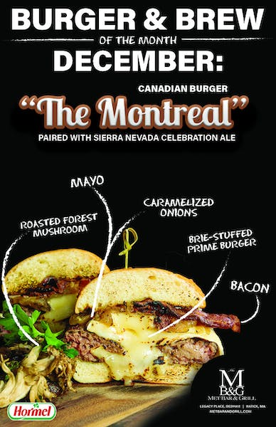 Burger Of The Month!