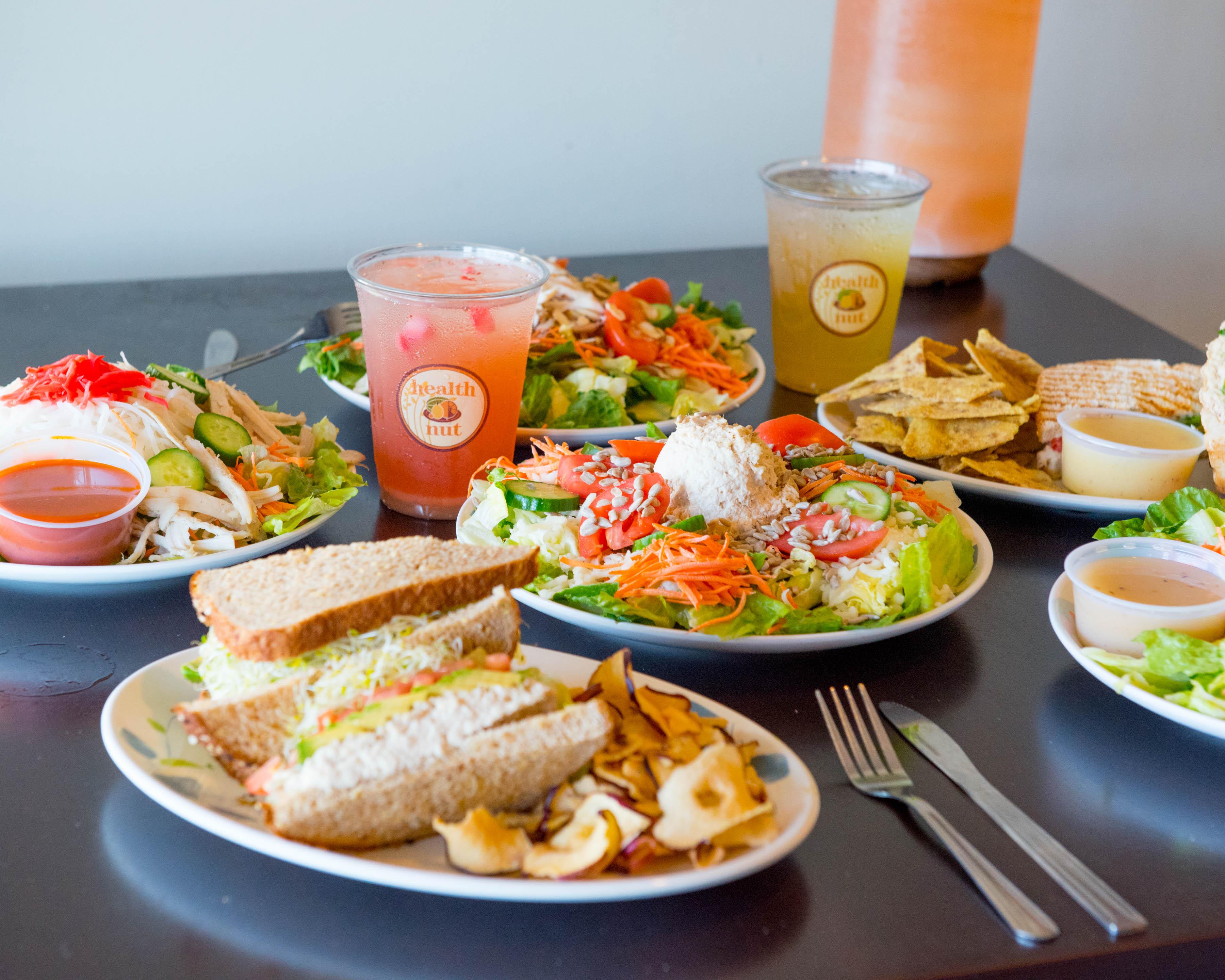California Chicken Salad Sandwiches picture