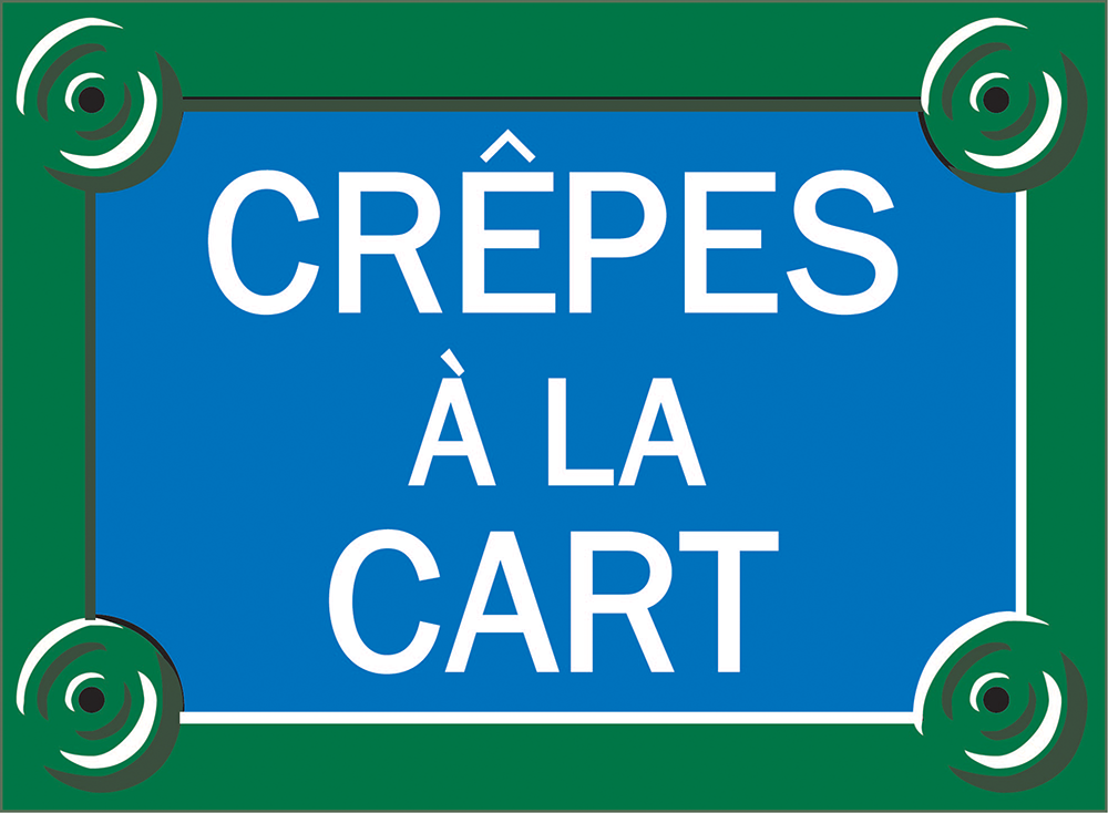 Crepes a la Cart Home