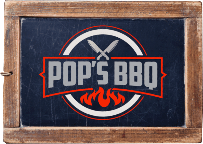 Image result for pops barbecue iowa city logo