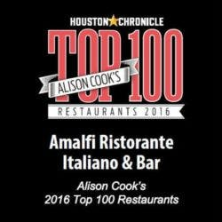 Alison Cook's 2016 Top 100 Restaurants