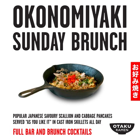 Okonomiyaki Sunday Brunch