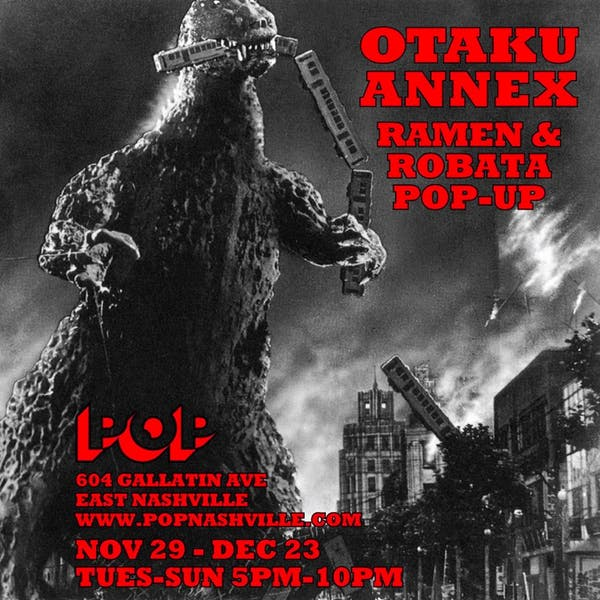 Otaku Annex Ramen & Robata Pop-Up