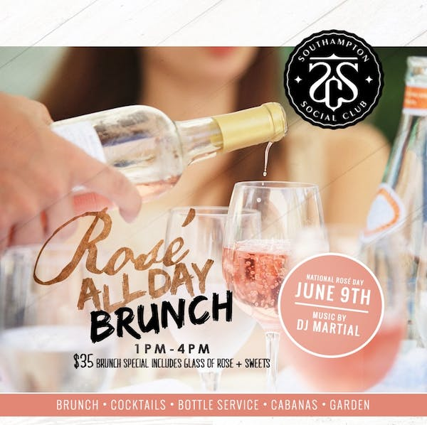 Rosé All Day Brunch Party