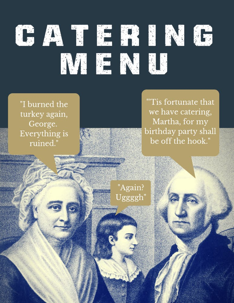 Catering Menu Image
