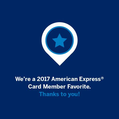 2017 American Express Favorite Restaurant