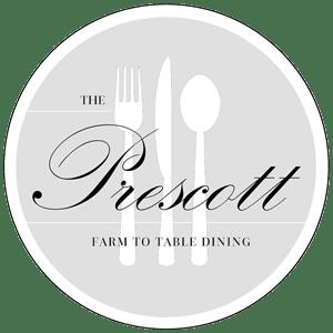 The Prescott farm to table dining Logo