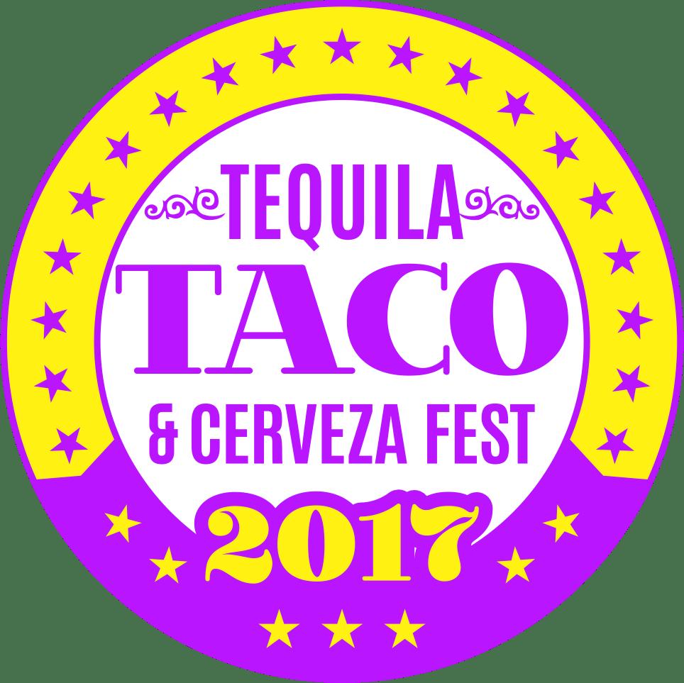 tequila taco and cerveza festival logo
