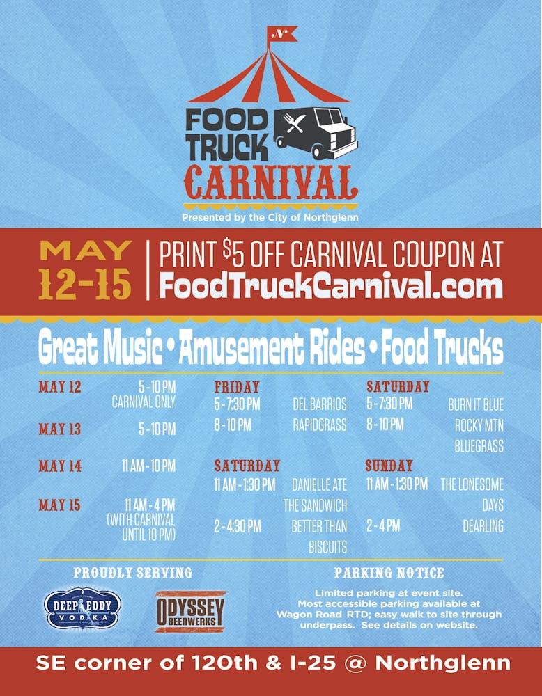 food truck carnival logo