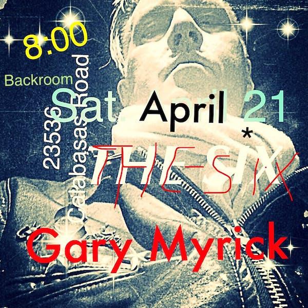 GARY MYRICK Live in The Bourbon Room - Saturday 4.21.18