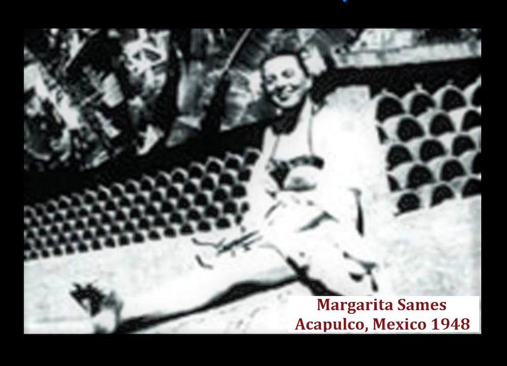 Margarita Sames Inventor of the Margarita