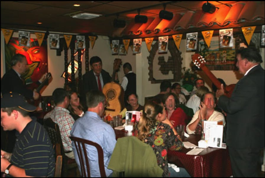 Musicians in the Dining Room