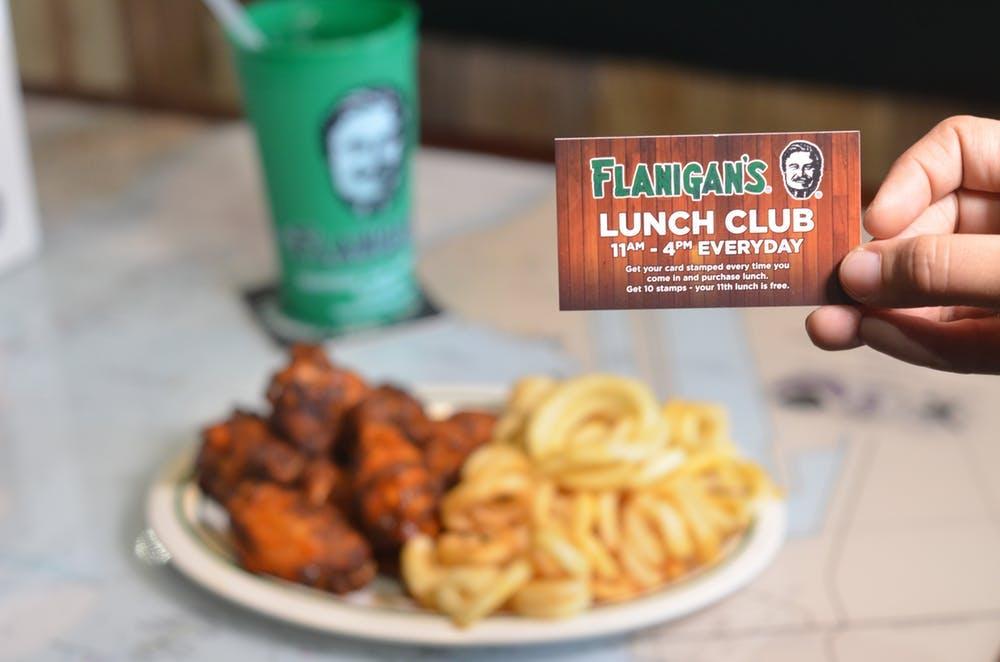 lunch club card