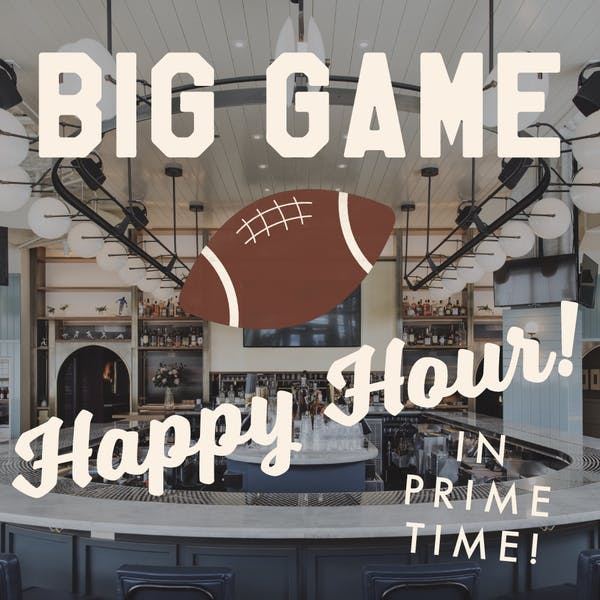 Happy hour special on game day at Wrigleyville bar