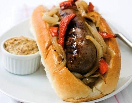 brats, polish sausage & italian sausage