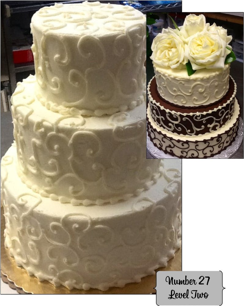two cakes
