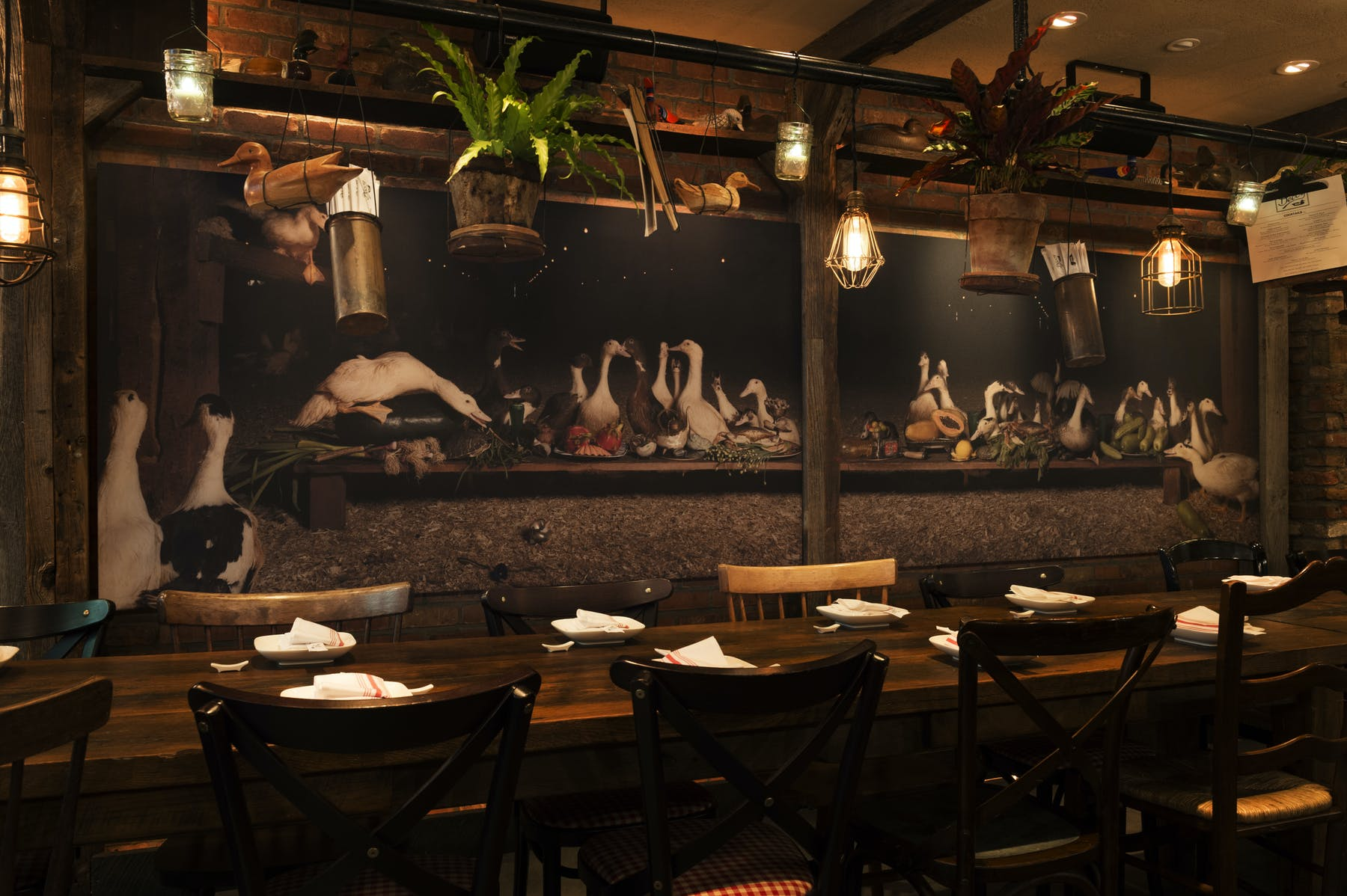 Decoy ½ Hudson St NYC - Table reservations nyc