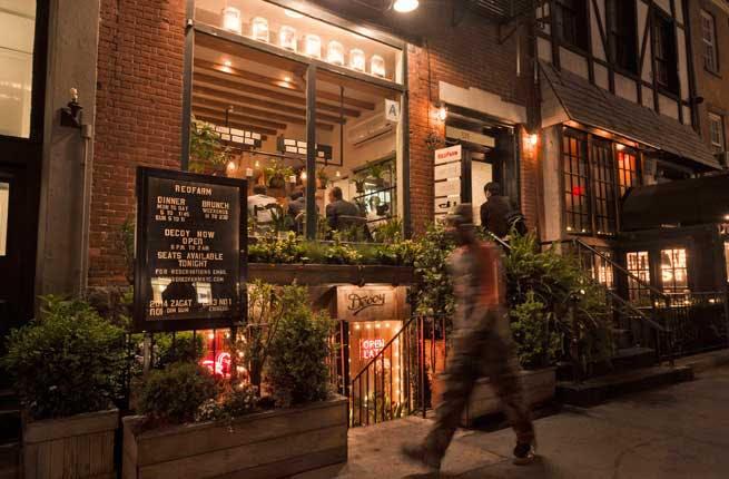 Restaurant At  Hudson St Nyc