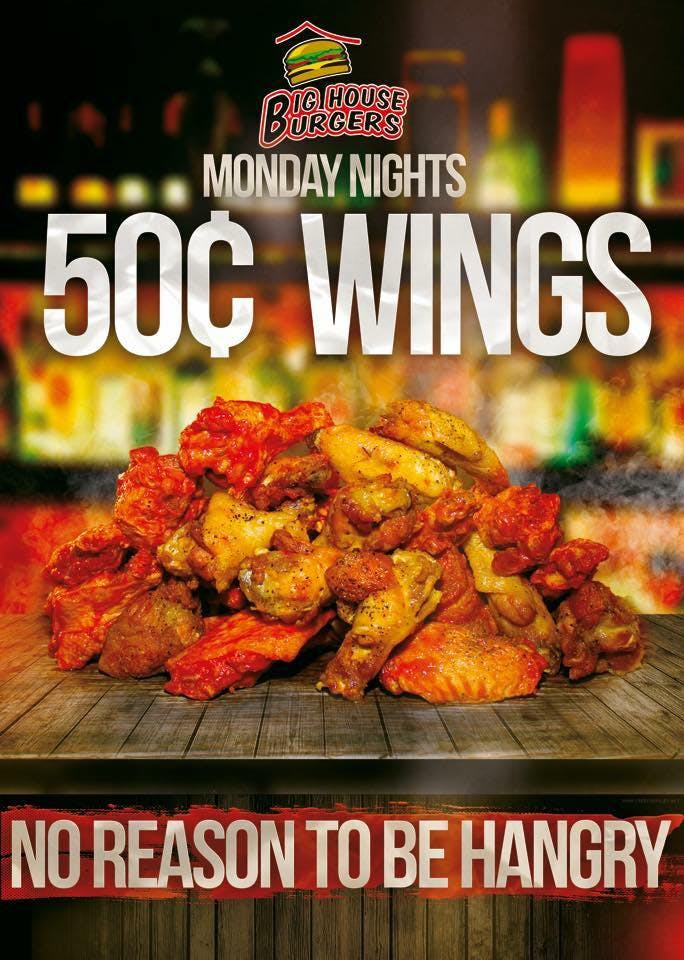 fifty cent wings poster