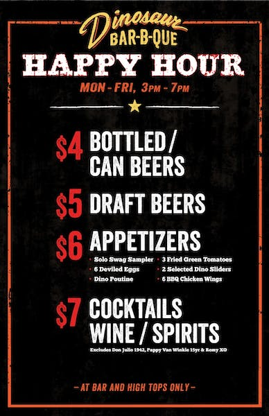 BK Happy Hour Prices and Information
