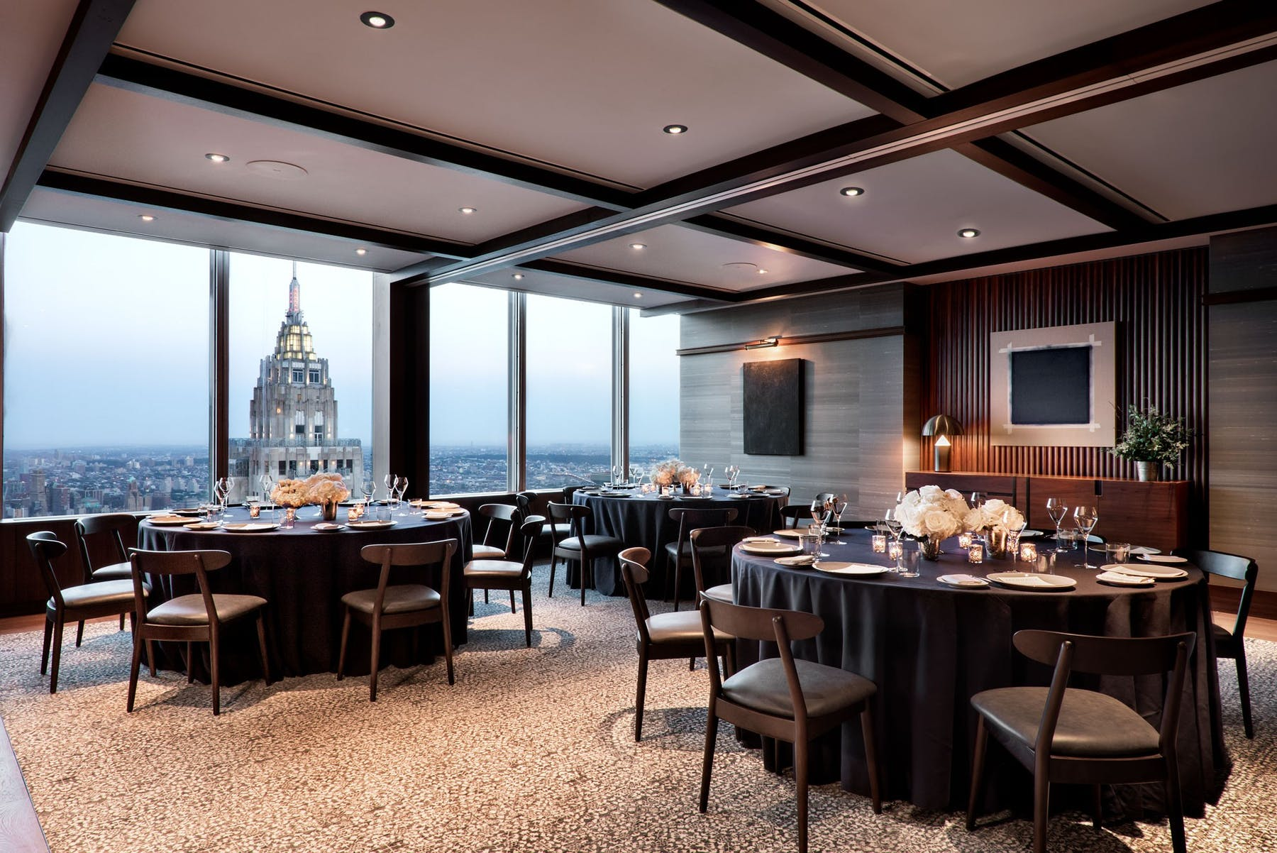 Manhatta Private Dining, New York private dining