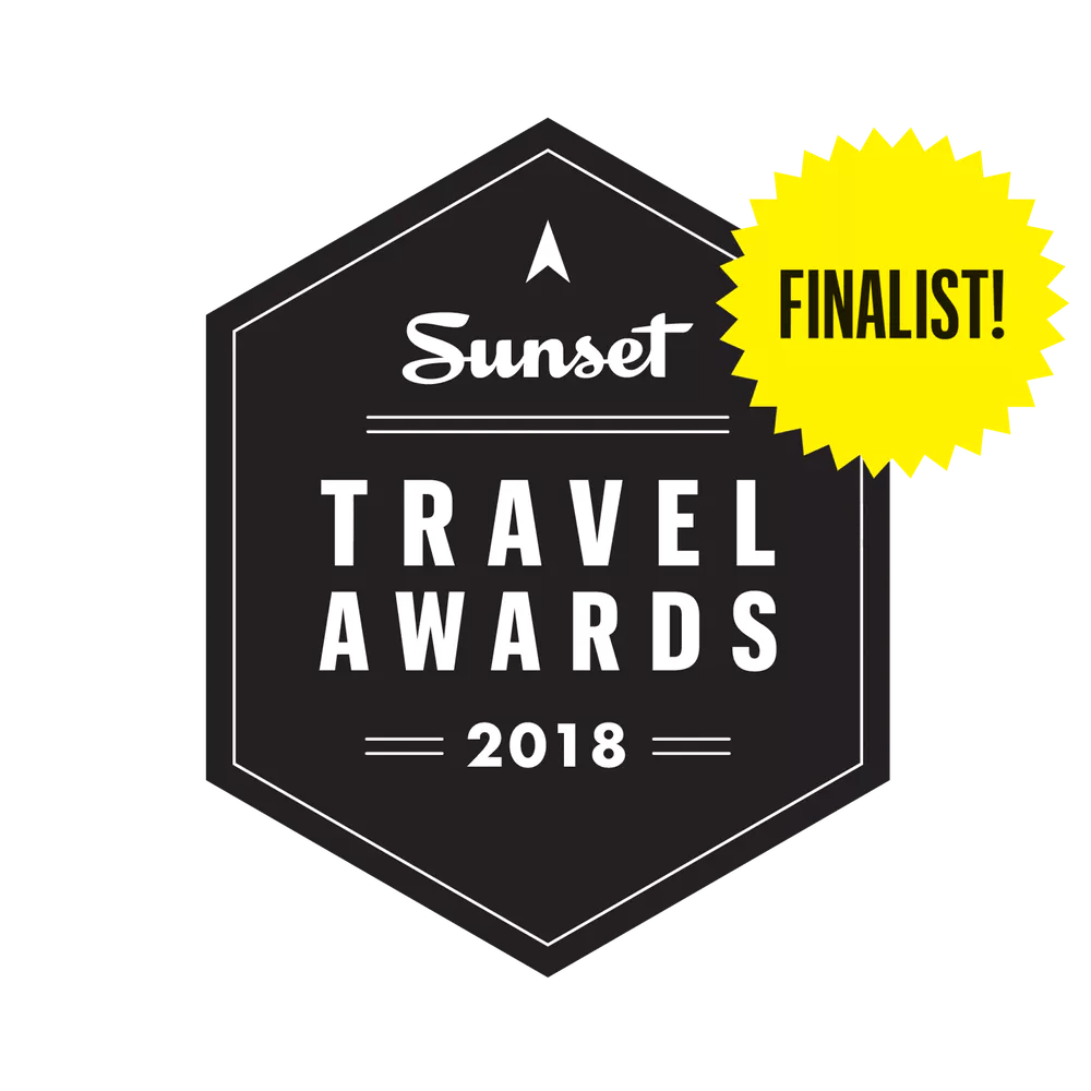 DANCIN as a 2018 Travel Awards FINALIST logo