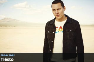 Tiësto's Friday Fives