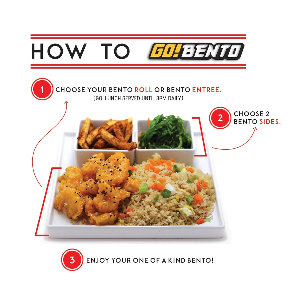 Go Bento Serves Bento For The People A Bento Is A Japanese Multiple Course Meal Traditionally Served In A Single Compartmentalized Box