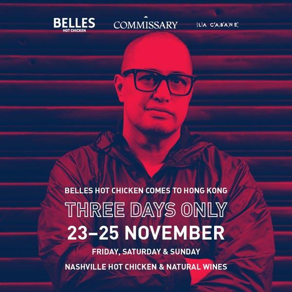 BELLES HOT CHICKEN COMES TO HONG KONG!