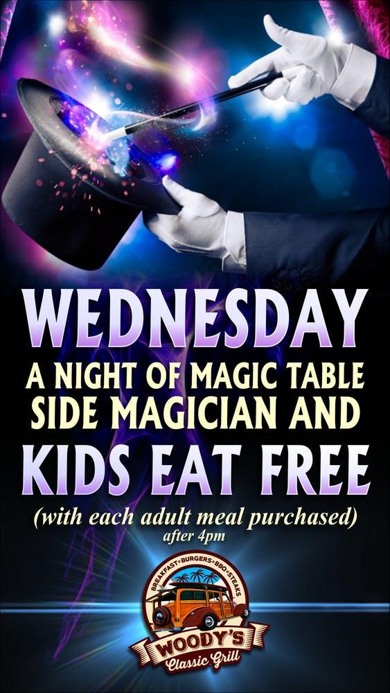 Wednesday Magic Night banner