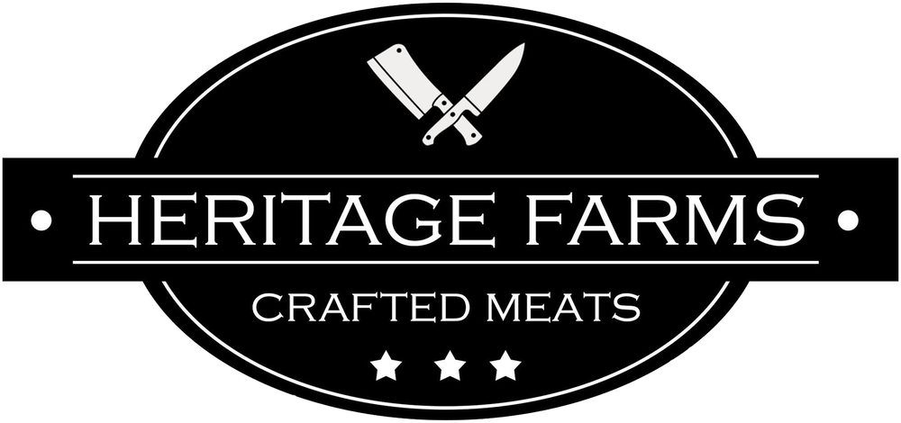 heritage farms crafted meats logo