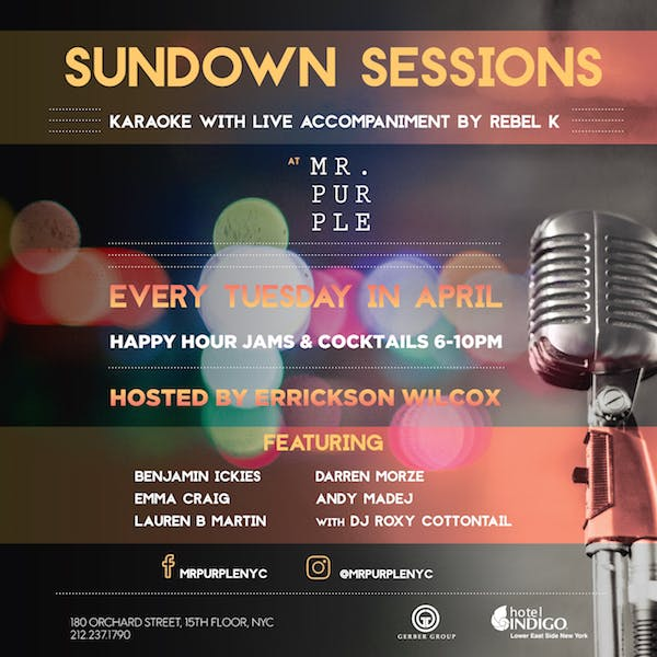 Sundown Sessions at Mr  Purple - Gerber Group