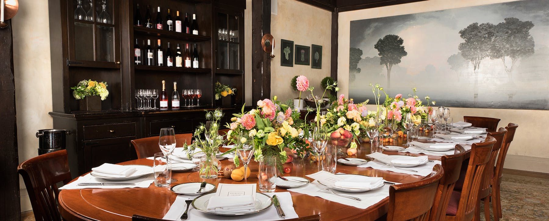 Private Dining | Seasonal Fine Dining in New York City