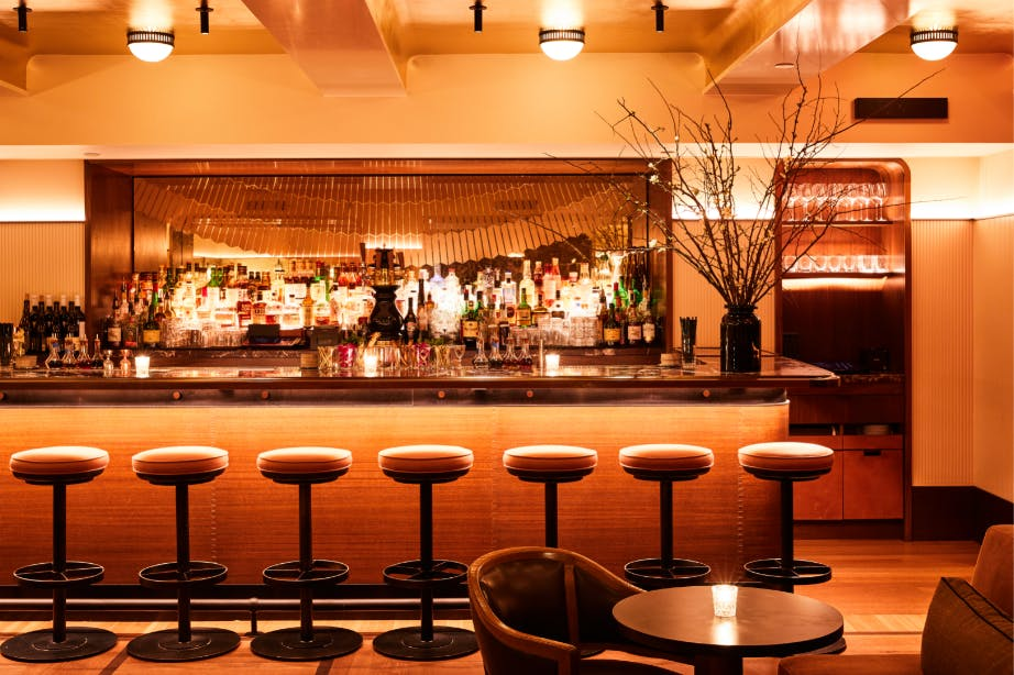 Evening Bar Interior