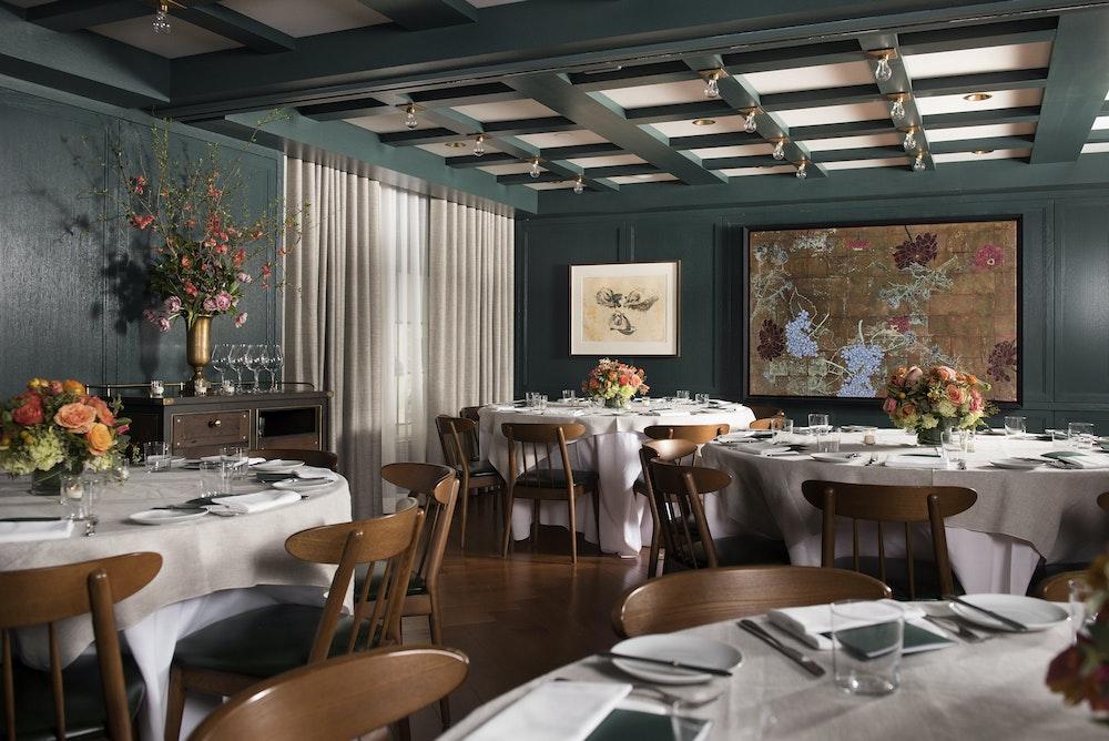 festive menu Private Dining Room